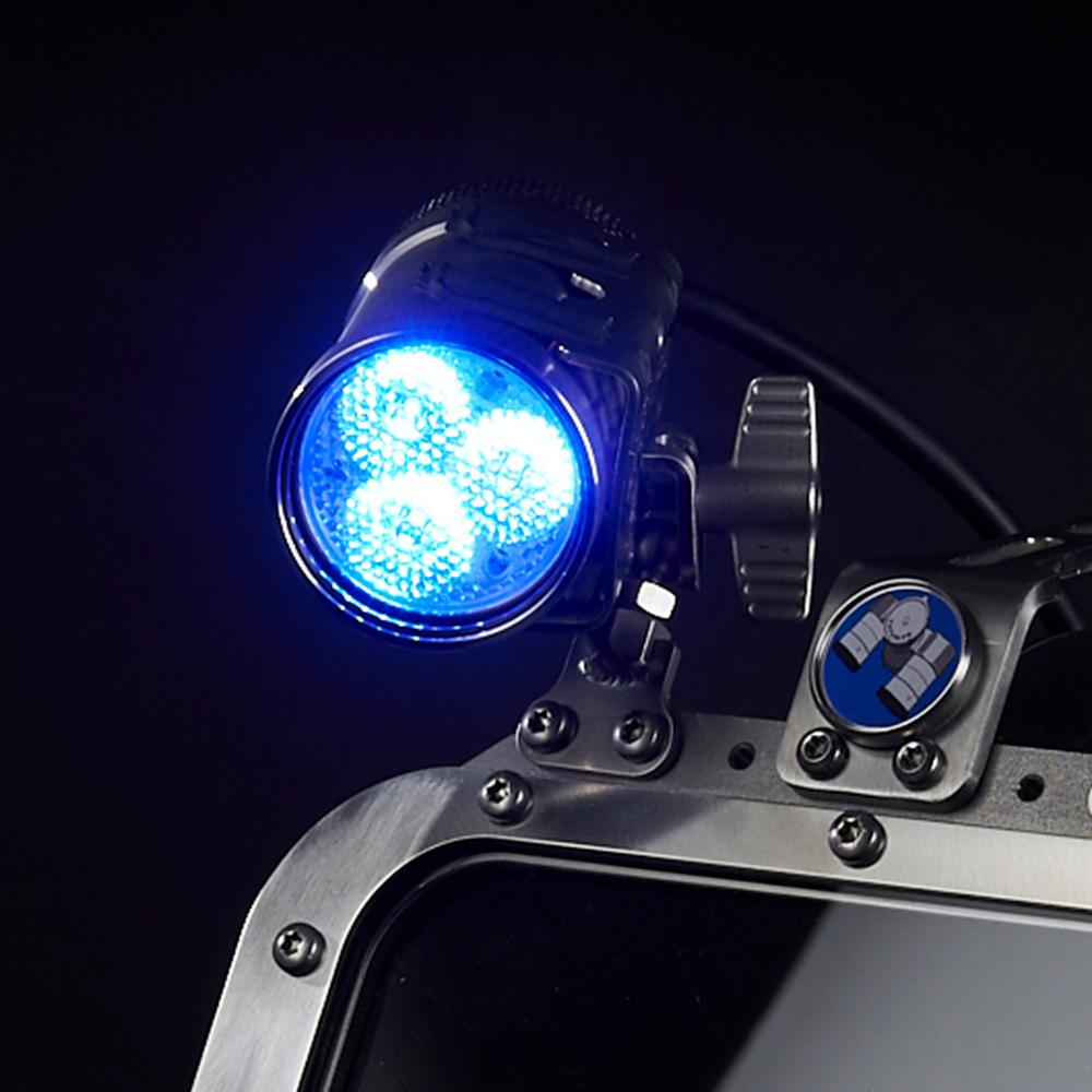 AFS 3 Helm | Lampenfarbe blau