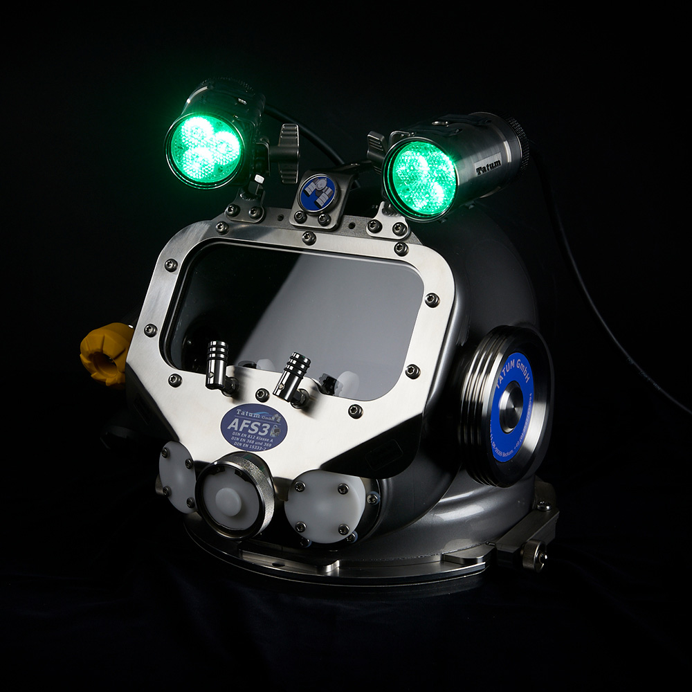 AFS 3 Helm | Lampenfarbe grün