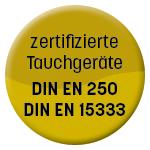 Bubble zertifizierte Tauchgeräte